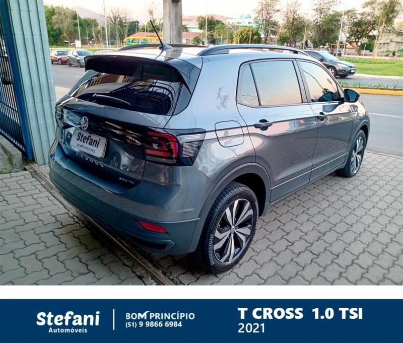 T-CROSS 1.0 TSI 12V FLEX 4P AUTOMÁTICO - 2021 - BOM PRINCíPIO