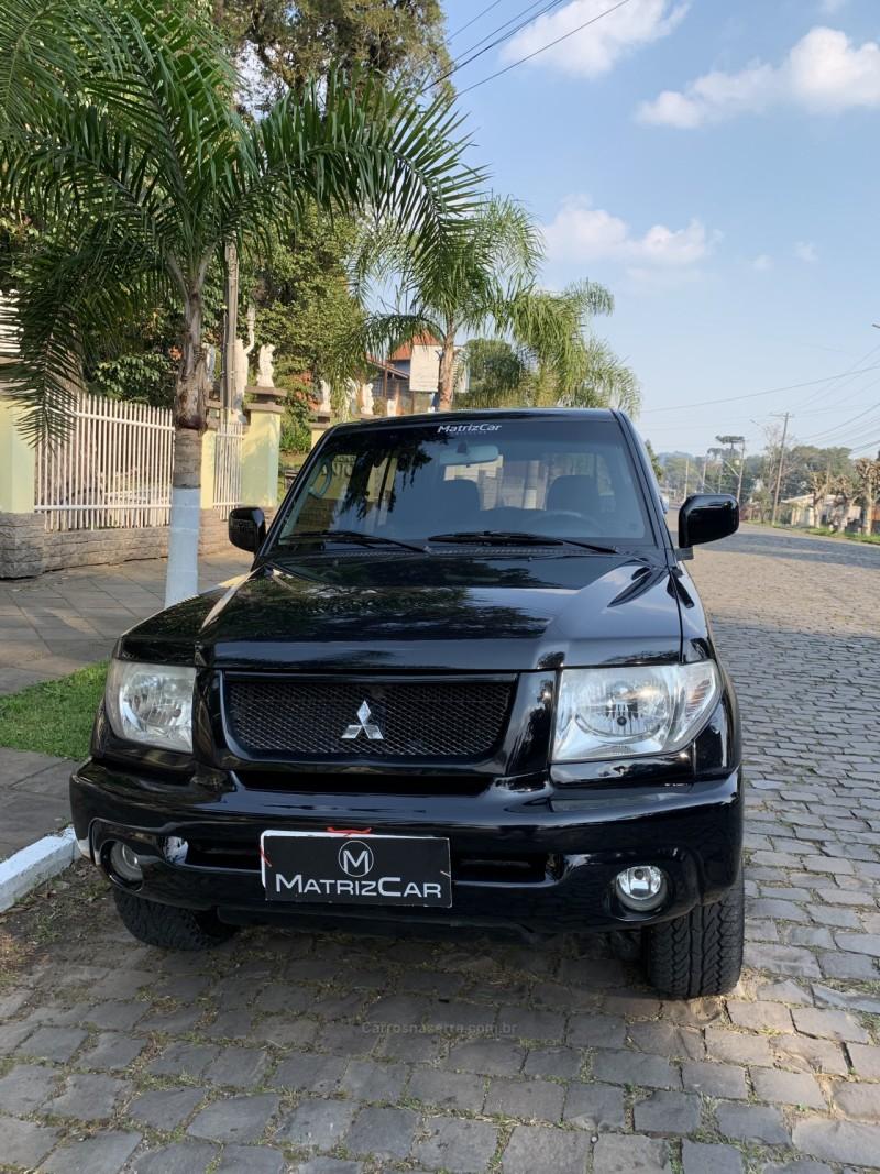 pajero tr4 2.0 4x4 16v 131cv gasolina 4p manual 2006 canela