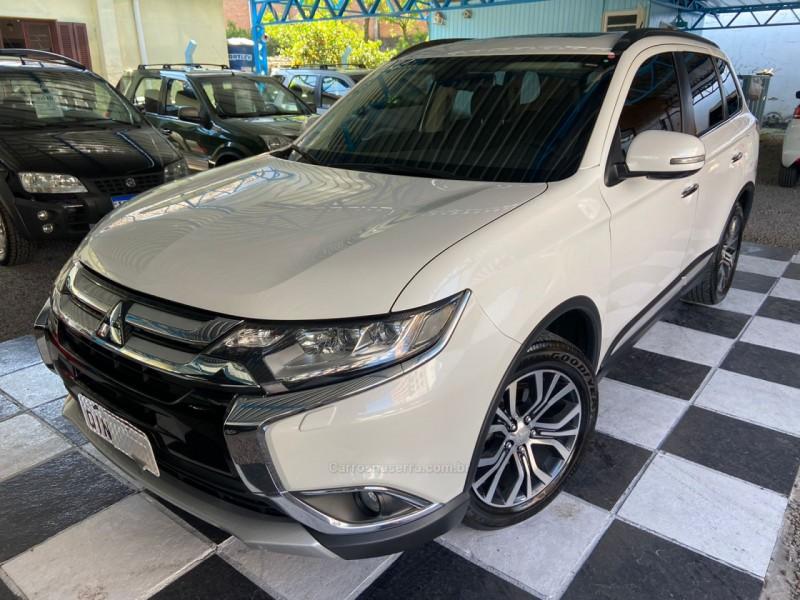 outlander 2.2 4x4 16v diesel 4p automatico 2016 nova prata