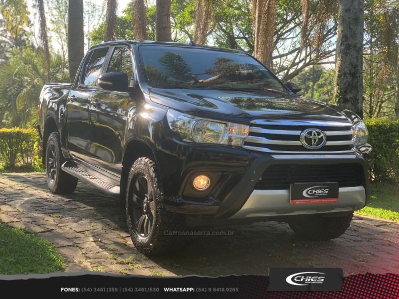 hilux 2.8 sr 4x4 cd 16v diesel 4p automatico 2016 carlos barbosa