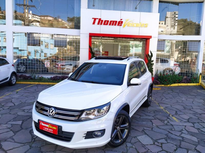 tiguan 2.0 tsi r line 16v turbo gasolina 4p tiptronic 2015 caxias do sul