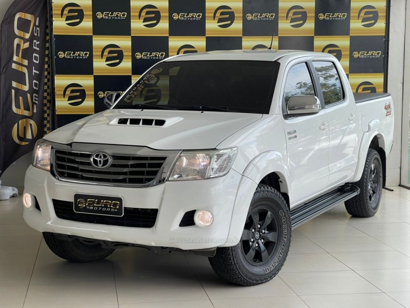 hilux 3.0 srv top 4x4 cd 16v turbo intercooler diesel 4p automatico 2012 portao
