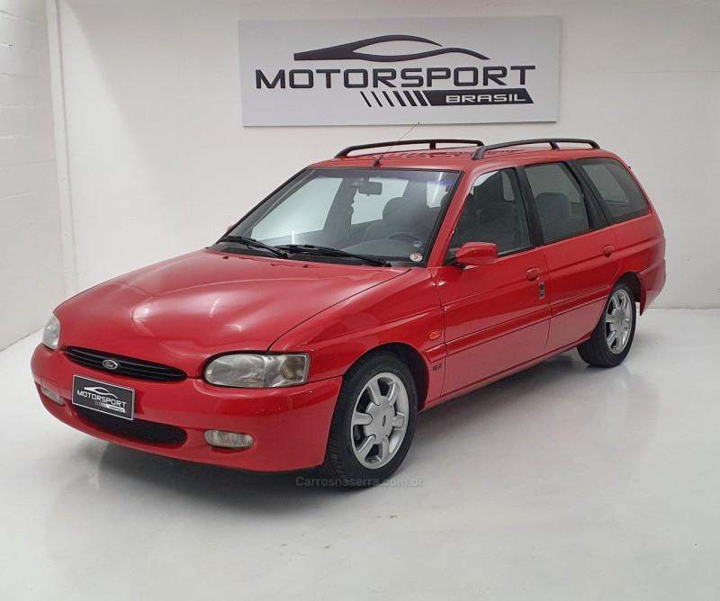 escort 1.8 sw glx 16v gasolina 4p manual 1998 bento goncalves