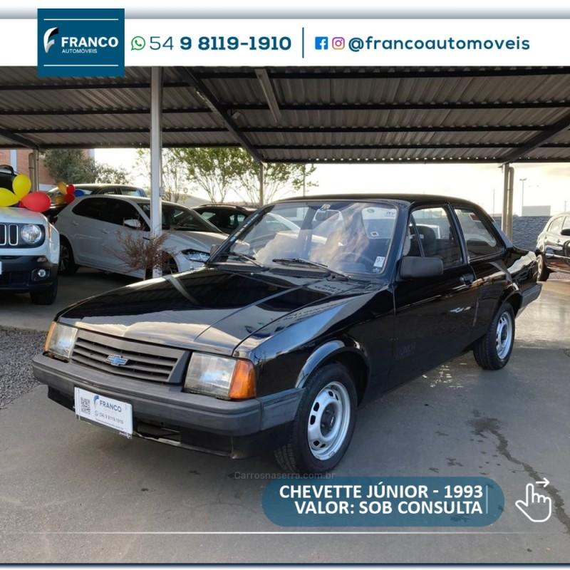 chevette 1.0 junior 8v gasolina 2p manual 1993 vacaria