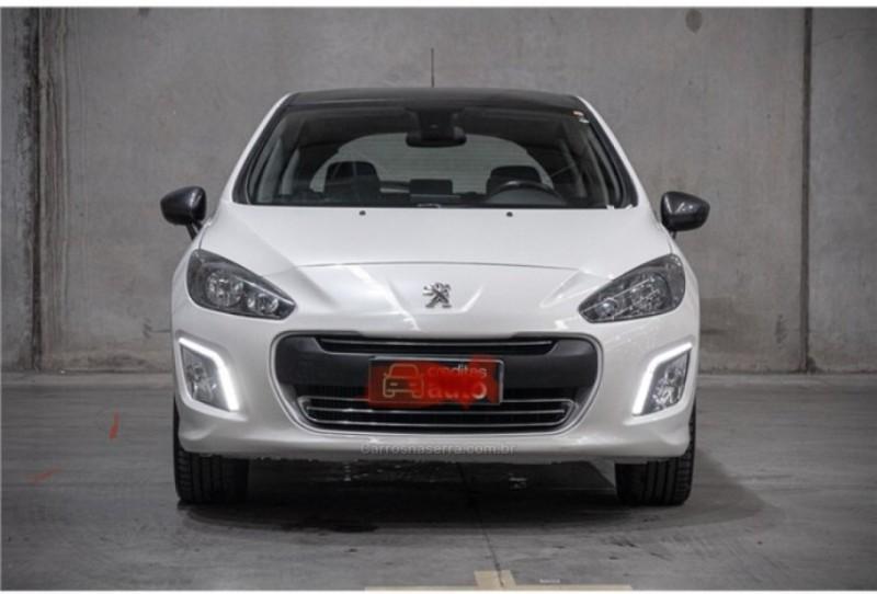 308 1.6 feline thp 16v gasolina 4p automatico 2014 caxias do sul