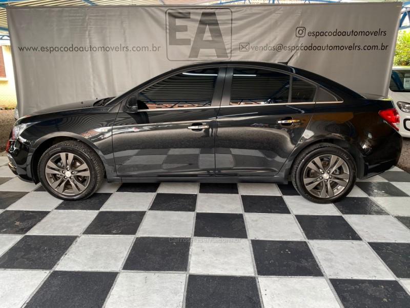 cruze 1.8 ltz 16v flex 4p automatico 2015 nova prata