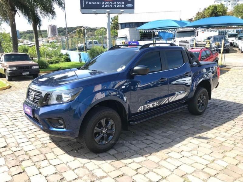 frontier 2.3 attack 4x4 cd bi turbo diesel 4p automatico 2021 farroupilha