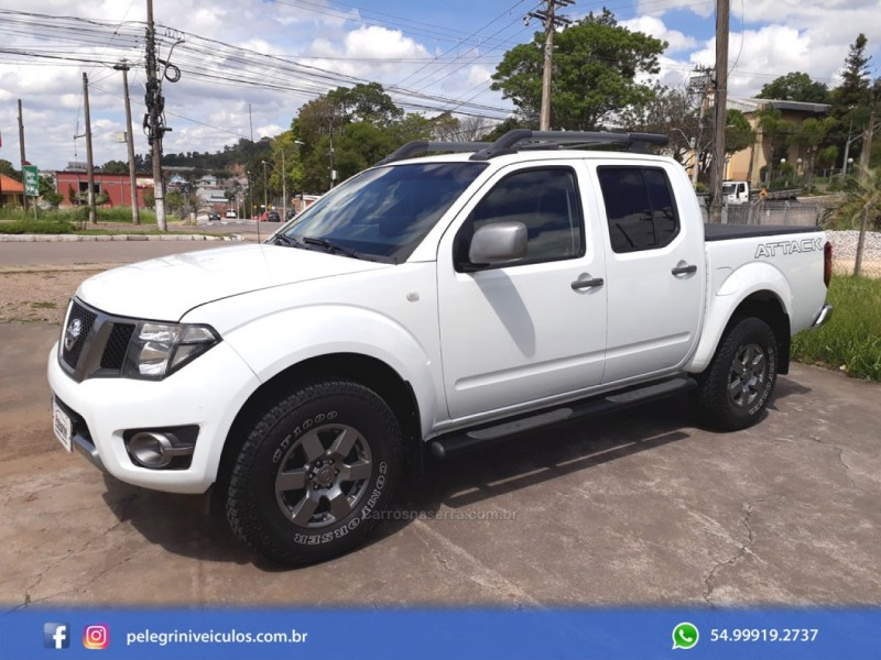 frontier 2.5 sv attack 4x4 cd turbo eletronic diesel 4p manual 2014 bento goncalves