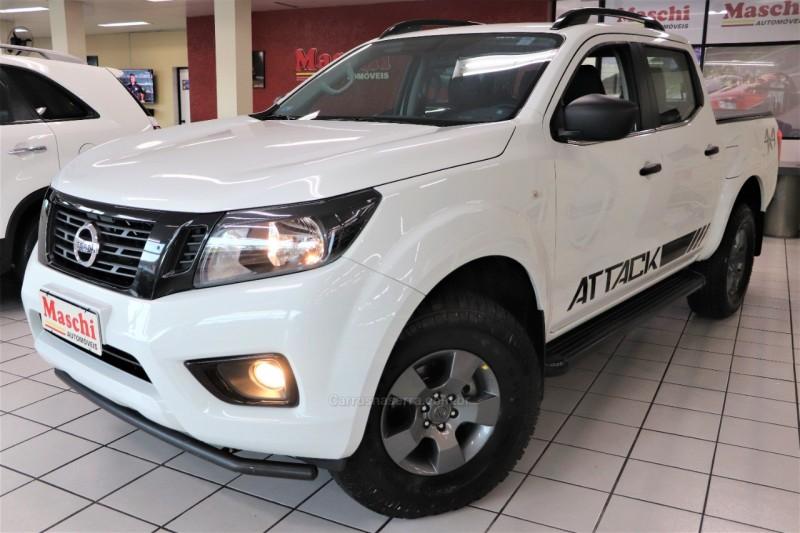 frontier 2.3 attack 4x4 cd bi turbo diesel 4p automatico 2019 caxias do sul