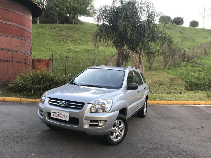 sportage 2.0 lx 4x2 16v gasolina 4p manual 2008 caxias do sul