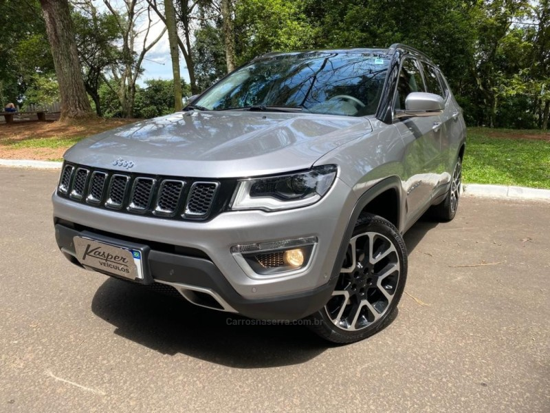 compass 2.0 16v diesel limited 4x4 automatico 2021 dois irmaos