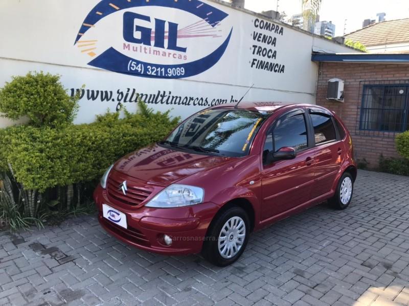 c3 1.4 i glx 8v gasolina 4p manual 2008 caxias do sul