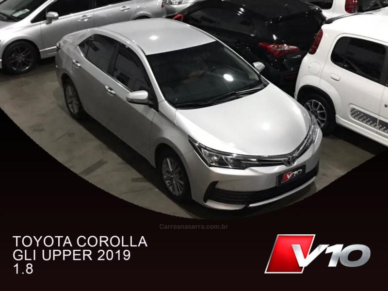 corolla 1.8 gli upper 16v flex 4p automatico 2019 caxias do sul