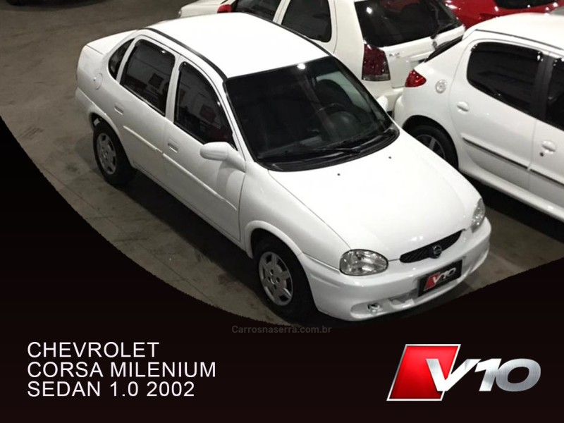 corsa 1.0 mpfi milenium sedan 8v gasolina 4p manual 2002 caxias do sul